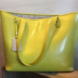 Ralph Lauren 🌻 yellow tote 👜